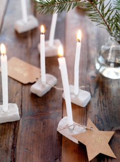 """This simple Christmas decoration is from our feature """"Gifts from Nature"""""""