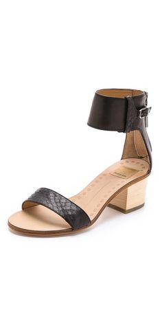 Dolce Vita Foxie low Heel Sandals | SHOPBOP