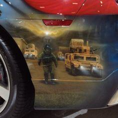 American Pride 2012 Camaro SS -- EOD team tribute