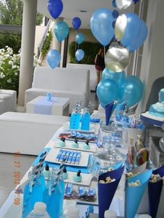 Sharks Birthday Party Ideas | Photo 5 of 50 | Catch My Party