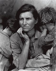 Dorothea  Lange , Migrant Mother, Nipomo, California, 1936