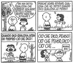 Friendship and sincerity Giulia 🤘🏼 . Peanuts Quotes, Lucy Van Pelt, Snoopy Comics, Cordial, Calvin And Hobbes, Peanuts Snoopy, Film Quotes, Charlie Brown, Friendship