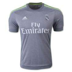 e0b9918a0 adidas Kids Real Madrid Away Jersey Grey Solar Yellow White. Soccer  Wearhouse
