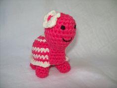 Tiny Turtle Crochet Stuffed Animal by CrochetByJulia