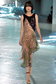 Rodarte Spring 2015 Ready-to-Wear Fashion Show - Mae Mei Lapres (MARILYN New York)
