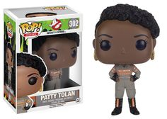 From the 2016 Ghostbusters Movie, Patty Tolan, as a stylized POP vinyl from Funko! Figure stands 3 inches and comes in a window display box. Check out the other Ghostbusters figures from Funko! Collect them all! Figurines D'action, Figurines Funko Pop, Pop Figurine, Pop Vinyl Figures, Paw Patrol, Funko Pop Ghostbusters, Ghostbusters Reboot, Die Geisterjäger, Chibi