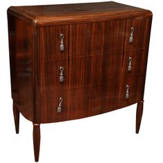 French Art Deco Commode | From a unique collection of antique and modern commodes and chests of drawers at http://www.1stdibs.com/furniture/storage-case-pieces/commodes-chests-of-drawers/