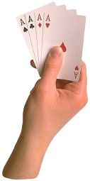 Fortune Telling with Playing Cards  http://cafeastrology.com/fortunetellingcards.html