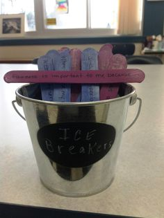 The Middle School Counselor: Making Custom Icebreakers