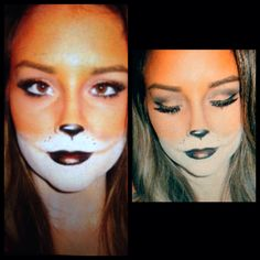 What does the fox say?! Halloween make up