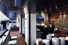 Hugos Pizza Bar, Potts Point, Sydney. Constructed by Calida.