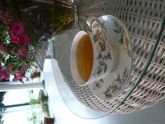 A nice cup of First Flush Darjeeling, Clonal Queen, at Glenburn Tea Estate, India