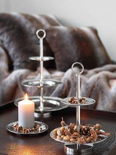 Fink Living 2er Etagere Piatto Edelstahl kaufen im borono Online Shop