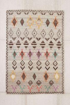 Un tapis coloré