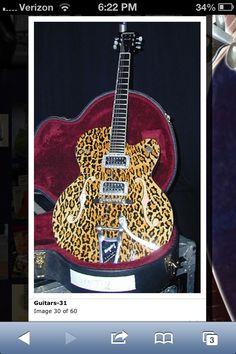 One of Brian Setzer's guitars.
