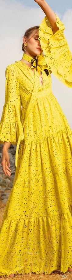 Party Fashion, Runway Fashion, High Fashion, Elie Saab Spring, Elie Saab Couture, Mellow Yellow, Color Yellow, Spring Summer Trends, Yellow Fashion