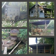 Beck's Mill  - Washington County, Indiana. Southwest of Salem, IN.  (September 2016)
