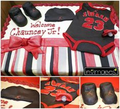 Michael Jordan Jumpman Baby Shower Party Ideas