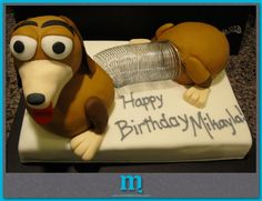 whaaat a character | Chicago Custom Cakes | Michelle M Cakes