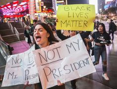 Anti-Trump protests hit Las Vegas, several other cities — PHOTOS ...