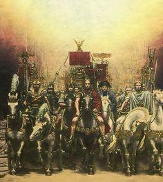 First French Empire, Roman Legion, Historical Art, Napoleon, Warfare, Romans, Warriors, Medieval, Greek