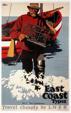 East Coast Types - Lobsterman by National Railway Museum