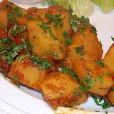 """Aloo Phujia I """"Superb! Extremely easy to prepare and perfectly seasoned and cooked. Very authentic!"""""""