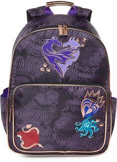 Disney Descendants Backpack Disney Descendants Dolls, Disney Channel Descendants, New Movies To Watch, Toy Cars For Kids, Leather Workshop, Halloween Costumes For Girls, Cute Outfits For Kids, Girls Accessories, Toddler Fashion