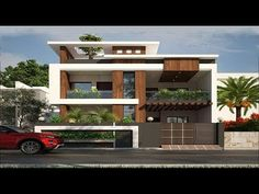 Modern Double Floor House in 5 Cent Plot 1200 for 12 lakh | Elevation | Design - YouTube