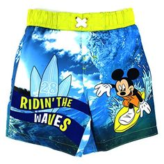 Mickey Mouse Boys Swim Trunks Swimwear (2T, Waves Blue) Disney http://www.amazon.com/dp/B01CKANOSC/ref=cm_sw_r_pi_dp_slI5wb0T2PJXY