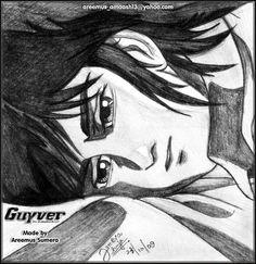 Guyver art 1 by areemus.deviantart.com on @DeviantArt