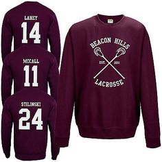 Cheap sweatshirt fashion, Buy Quality fashion hoodie directly from China hoodie fashion Suppliers: Fashion Men McCall 24 14 Teen Wolf Inspired Sweatshirt Hoodie Jumper Lacrosse Team Long Sleeve ONeck Pullovers Sweatshirts Teen Wolf Merch, Ropa Teen Wolf, Beacon Hills Lacrosse, Stilinski 24, Embroidered Sweatshirts, Cute Shirts, Adidas, Outfits For Teens, Types Of Sleeves