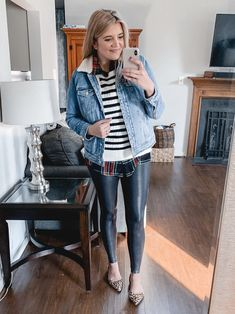 From athletic looks to dressier options, you'll find over twenty spanx faux leather leggings outfits for fall and winter! Legging Outfits, Leggings Fashion, Fall Fashion Skirts, Birkenstock Outfit, Spanx Faux Leather Leggings, Best Leggings, Leggings Store, Cheap Leggings, Lauren
