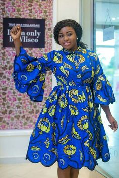 Hello once again here are some lovely ankara gowns that will make you look awesome this season. These ankara gowns are really cool for your outing, wedding occasions and any other special events. Latest African Fashion Dresses, African Dresses For Women, African Print Fashion, Africa Fashion, Dress For Short Women, African Attire, African Women, Ankara Fashion, Fashion Prints