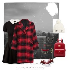 """""""Big City"""" by jinks583 on Polyvore featuring Meggie, Ace, Burt's Bees, Cameo Rose, Kate Spade, Dogeared, Charlotte Russe and Converse"""