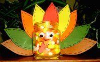baby food jar kid's craft idea