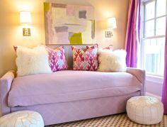 purple girl's room!