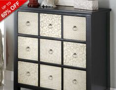 No living room is complete without a an accent chest to cut clutter and add style. These pieces are great because they add a focal point to a space and help define a room's style. Stow away anything from blankets to books, and make use of the surface space to display chic decor. Try lining the top with a faux bouquet, trendy table lamp, or candles, or ceramic figurines.