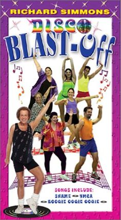 Image result for richard simmons disco blast off