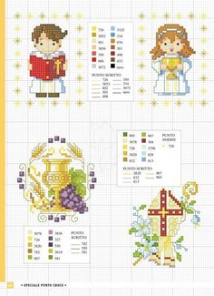 quilting like crazy Embroidery Art, Cross Stitch Embroidery, Cross Stitch Patterns, Cross Stitch Collection, Religious Cross, First Communion, Cross Stitching, Sewing Crafts, Diy And Crafts