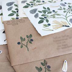 Art by Olga Ezova-Denisova. Stamp Printing, Printing On Fabric, Screen Printing, Stamp Carving, Fabric Stamping, Handmade Stamps, Tampons, Bookbinding, Book Art