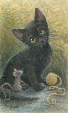 Art by Lynn Bonnette: March 2011