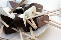 SavingYourGreen: Hot Chocolate On a Stick~A DYI Gift!