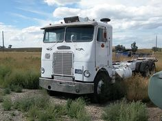 this 69 Freightliner sits at the Fire Hall!!!