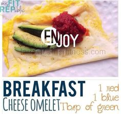 Cheese Omelet-21 Day Fix Approved