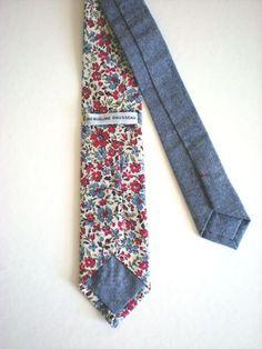 Floral Neckties by Jacqueline Rousseau
