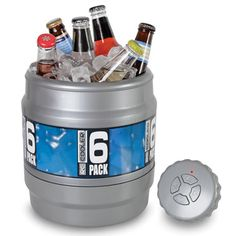 The Remote Controlled Rolling Beverage Cooler - Hammacher Schlemmer