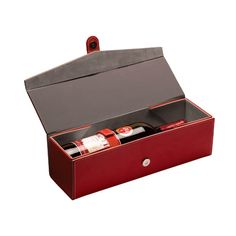 The wine box folds neatly for impressively compact storage. You will always love the chance to bring a crisp and sweet wine to special occasions, transforming a dinner party to a fine dining experience. Luxury Packaging, Packaging Design, Sweet Wine, Bottle Box, Wine Case, Leather Box, Fine Wine, Wine Gifts, Innovation Design