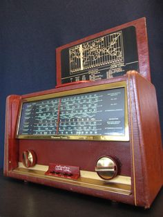 Vintage 1950s Hallicrafters OLD Shortwave Analog Multiband MID Century Radio | eBay