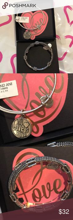 Alex and Ani My Love is Alive silver set 💕NWT Silver set NWT Alex and Ani Jewelry Bracelets